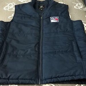 NY Rangers mens large vest
